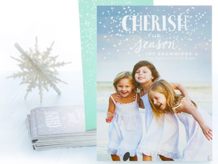 10 Free Christmas Cards from Tiny Prints
